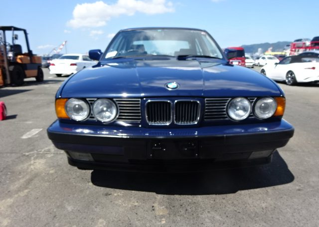 1990 bmw 5 series 525i japanese version fed legal imports. Black Bedroom Furniture Sets. Home Design Ideas