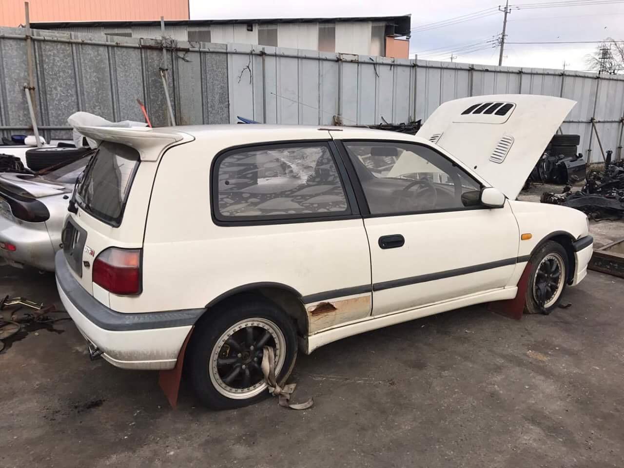 1991 Nissan Pulsar GTI-R Rally Car RNN14 | Fed Legal Imports