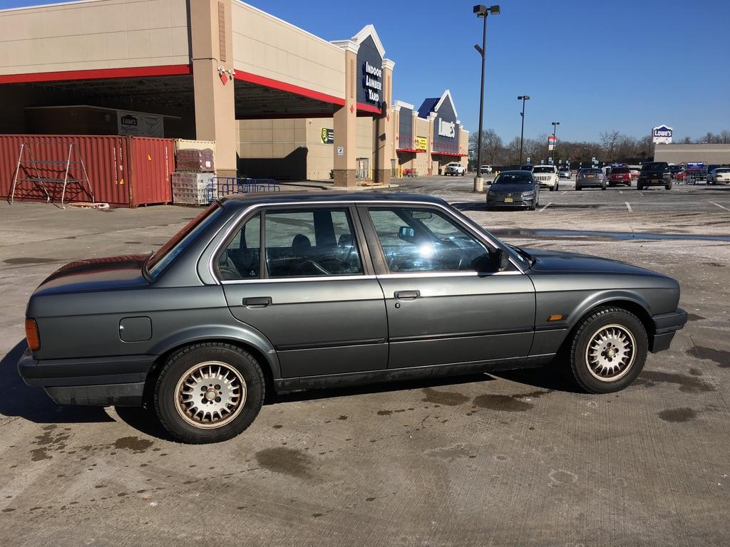 1990 Bmw 3 Series Sedan 320i E30 A20 Fed Legal Imports