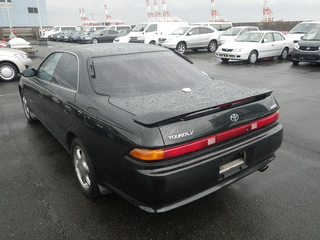 1993 Toyota Mark II Mark2 Tourer V JZX90 1JZ GTE Dark Green 67k Kilometers  GRADE 4 Automatic | Fed Legal Imports