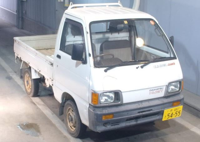 1991 Daihatsu Hijet Truck 36k Kilometers 4 Speed 4WD White