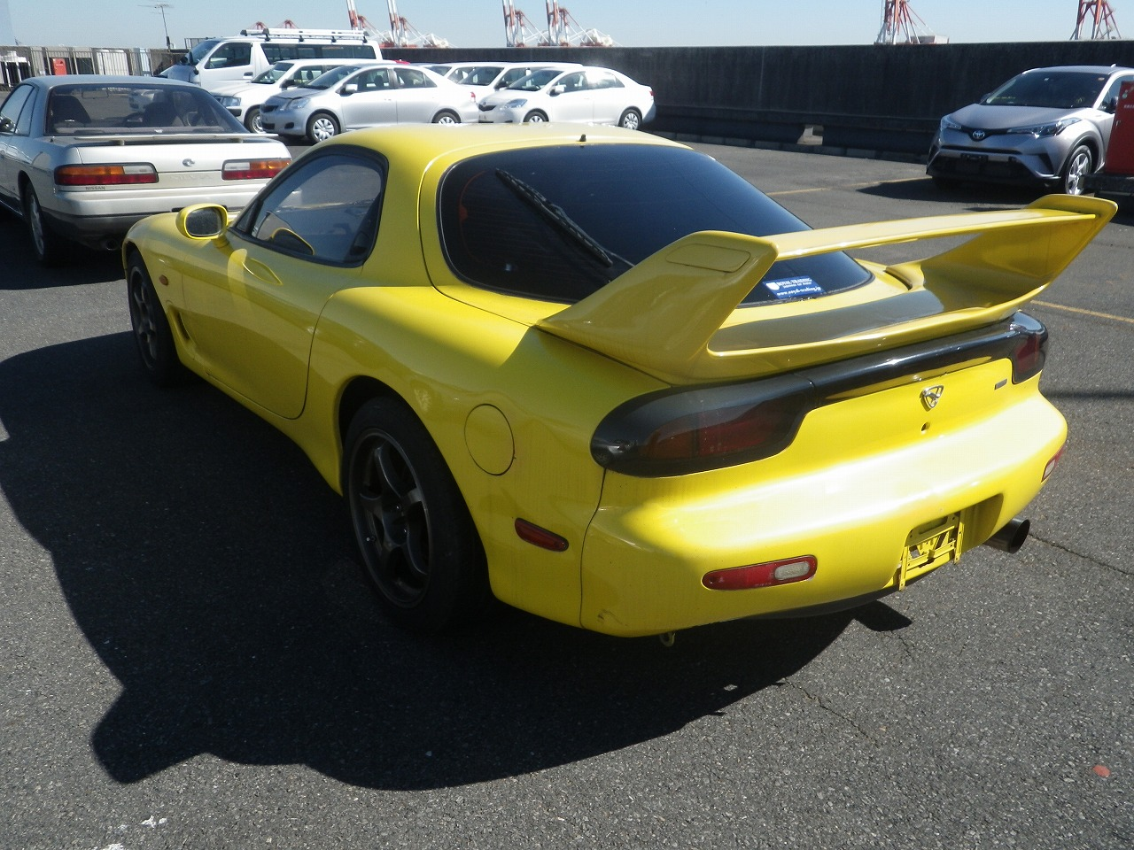 1992 Mazda Rx 7 Yellow Manual June Production Fed Legal Imports 1990 Wiring Diagram Sold
